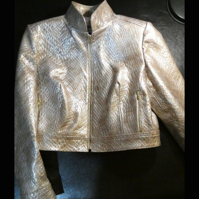 GOLDEN MERMAID (LEATHER JACKET)